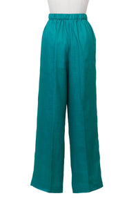 Botanical Dye Separate Pants | Peony Malachite