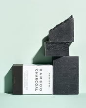 画像をギャラリービューアに読み込む, [HERBIVORE BOTANICALS]--Cleansing Bar Soap | Bamboo Charcoal