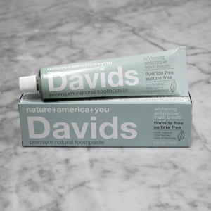 [Davids]--Premium Natural Toothpaste | Peppermint