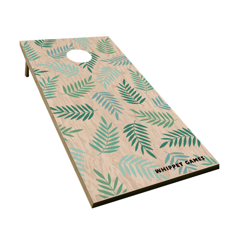 Cornhole Game | Fern Design
