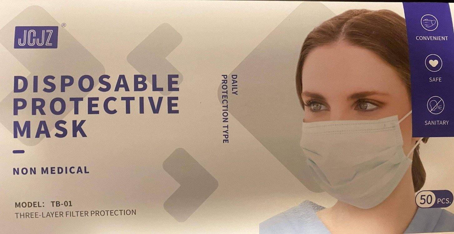 50 pieces- Same day shipping from USA- 50 pieces -3 layer mask