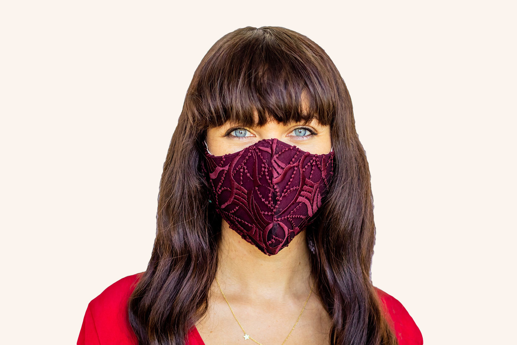 Women's Lace Burgundy