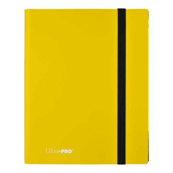 Ultra Pro: Eclipse 9-Pocket Lemon Yellow PRO-Binder