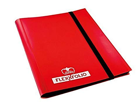 Ultimate Guard: 4-Pocket FlexXfolio Red