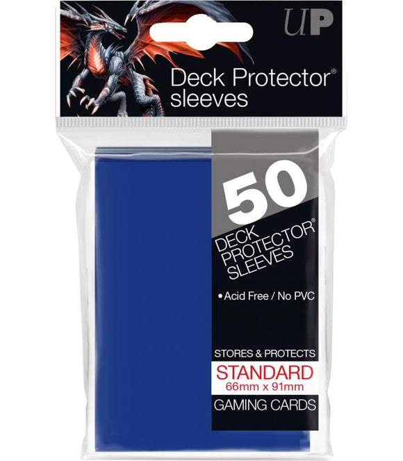 Ultra Pro: Deck Protector Sleeves Standard - Azul
