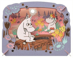 The Moomins on the bridge Paper Theater