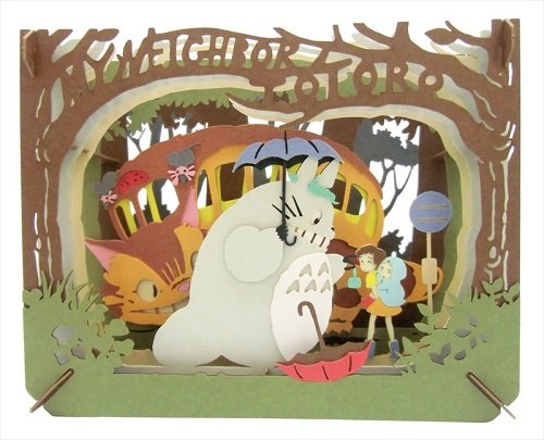 Ghibli My Neighbor Totoro Magical Encounter Paper Theater