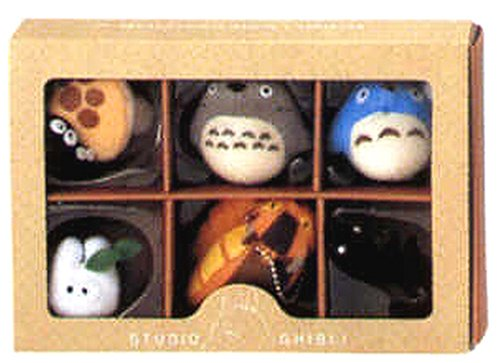 Studio Ghibli Complete Set Key Ball Chain Ver. 1