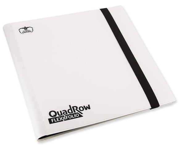 Ultimate Guard: 12-Pocket QuadRow FlexXfolio White