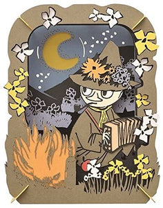 The Moomins Snufkin's Moonlight Paper Theater