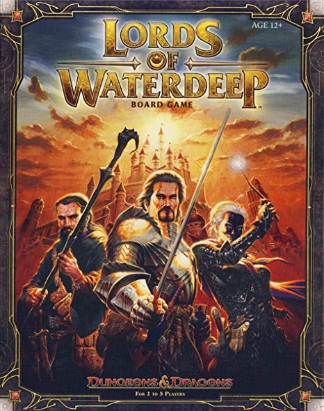 D&D Lords of Waterdeep BG - INGLÉS