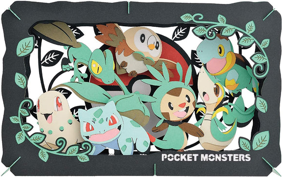 Pokémon Pocket Monsters Type: Grass Paper Theater