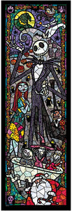 Disney Stained Art Jigsaw Puzzle - A nightmare before Christmas - 456 piezas