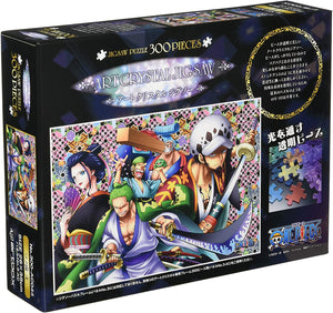 One Piece Art Crystal Jigsaw - Wanokuni 2 - 300 piezas