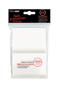 Ultra Pro: Deck Protector Sleeves Standard White