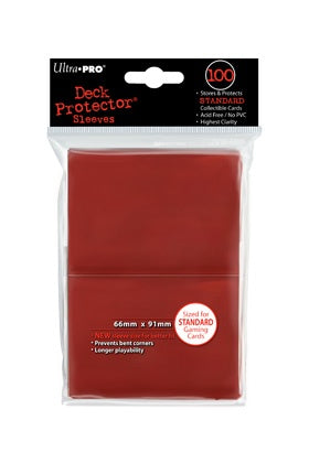 Ultra Pro: Deck Protector Sleeves Standard Red
