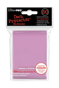Ultra Pro: Deck Protector Sleeves Standard Pink