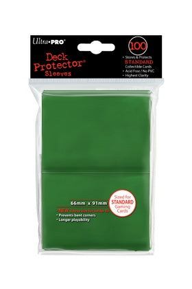 Ultra Pro: Deck Protector Sleeves Standard Green