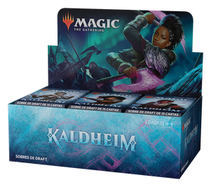 Magic the Gathering: Kaldheim Draft Booster Box - INGLÉS