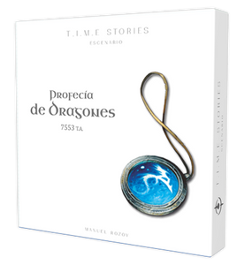 Time Stories: A Prophecy of Dragons Expansion - INGLÉS