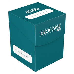 Ultimate Guard: Deck Case 100+ Standard Size Petrol
