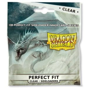Dragon Shield: 100 Micas Tamaño Standard Perfect Fit Sideloader Clear