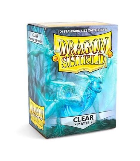 Dragon Shield: 100 Micas Tamaño Standard Clear Matte
