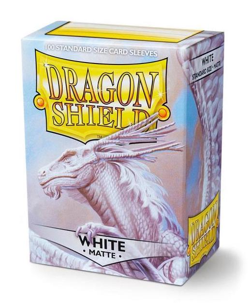 Dragon Shield: 100 Micas Tamaño Standard Matte White