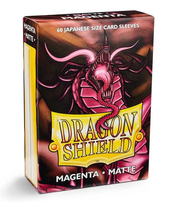 Dragon Shield: 60 Micas Tamaño Small Magenta Matte