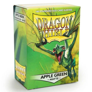 Dragon Shield: 100 Micas Tamaño Standard Matte Apple Green