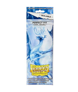Dragon Shield: 100 Micas Tamaño Standard Perfect Fit Sealable Clear