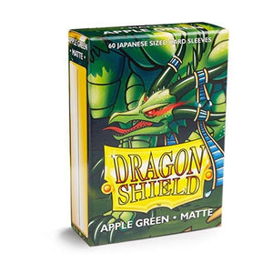 Dragon Shield: 60 Micas Tamaño Small Apple Green Matte