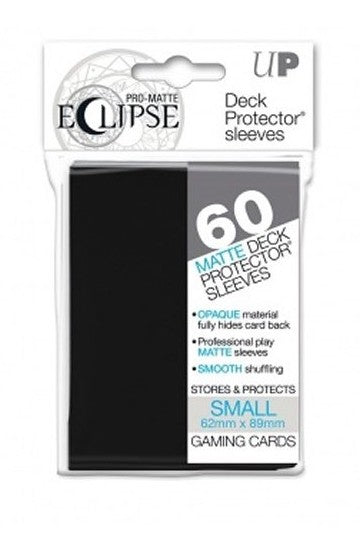 Ultra Pro: PRO-MATTE Eclipse Deck Protector Sleeves Small - Black