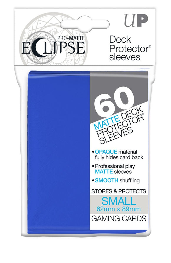Ultra Pro: PRO-MATTE Eclipse Deck Protector Sleeves Small - Pacific Blue