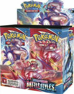 Pokémon TCG: Sword & Shield 5 -Battle Styles - Booster Box INGLÉS