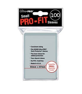 Ultra Pro: Small PRO-FIT Sleeves 100
