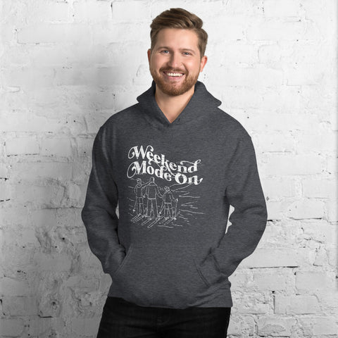 The Skiing Family - Men's or Women's Hoodie