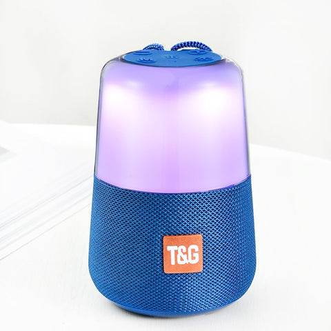 Smart LED Flash Light Bluetooth Speaker
