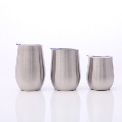 Stemless Wine Tumbler with Lid