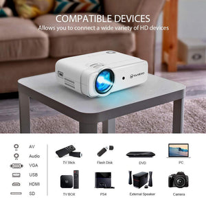 VANKYO Leisure 430, 3800 Lux Video Mini Movie Projector - VANKYO