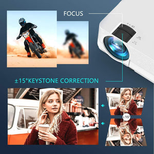 VANKYO Leisure 470 Mini Projector with Synchronize Smart Phone Screen projector VANKYO
