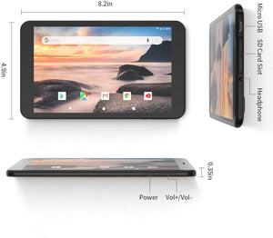 VANKYO MatrixPad S8 Tablet 8 inch, Android 9.0 Pie, 2 GB RAM, 32 GB Storage, IPS HD Display Tablet VANKYO
