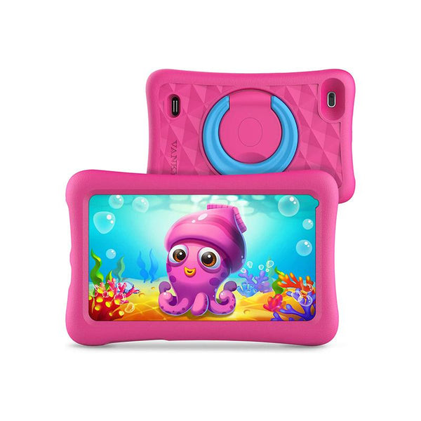 VANKYO MatrixPad Z1 Kids Tablet, 7 inch, 32GB ROM, IPS HD Display, Android Tablet, Pink Tablet VANKYO