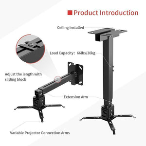 VANKYO Universal Projector Ceiling Mount Wall Bracket Holder - VANKYO