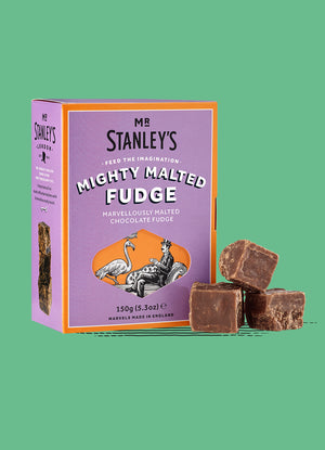 Mighty Malted Chocolate Fudge
