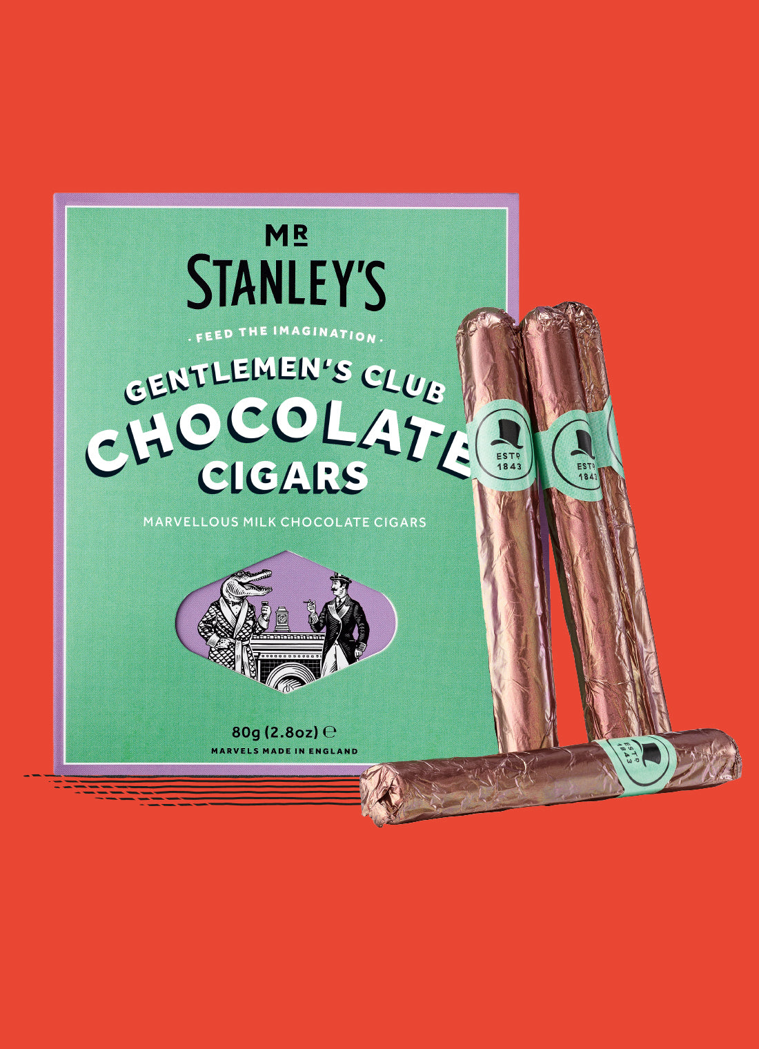 Gentlemen's Club Milk Chocolate Cigars