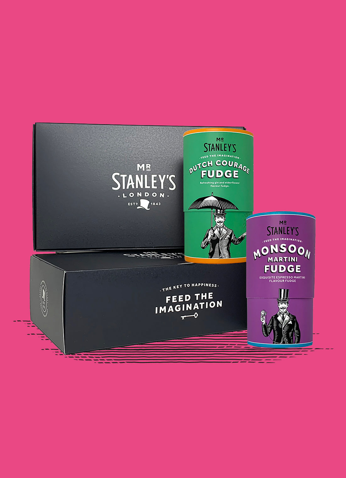 Boozy British Fudge Gift Box