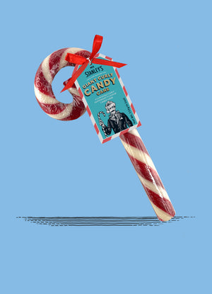 Giant Curly Candy Canes