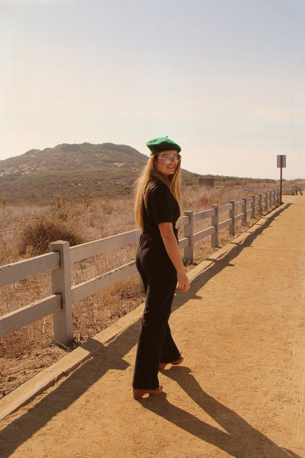 The California Shake Jumpsuit in Black