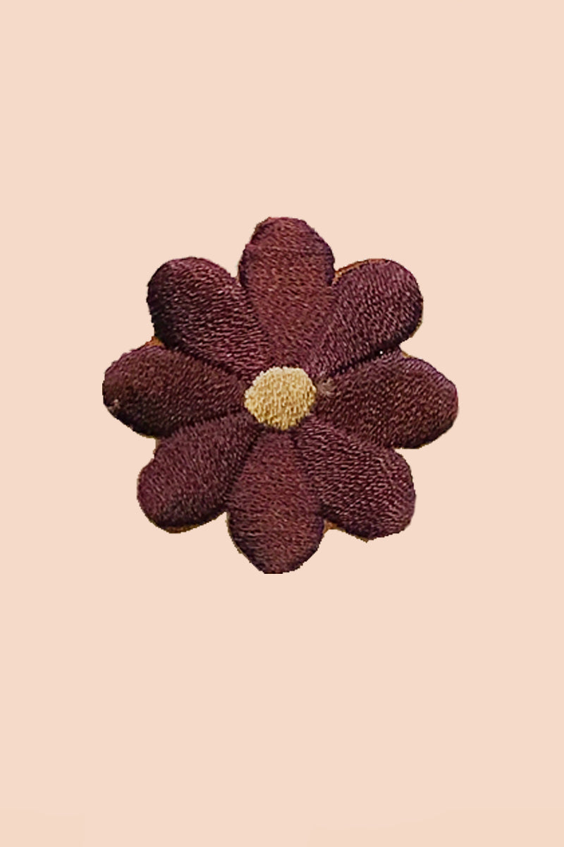 Daisy Patch in Plum